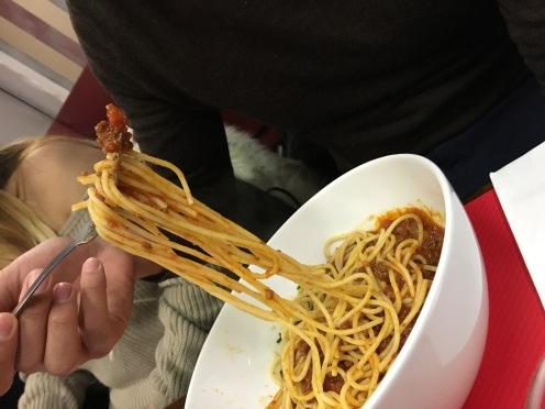 The last meal: Bolonagise